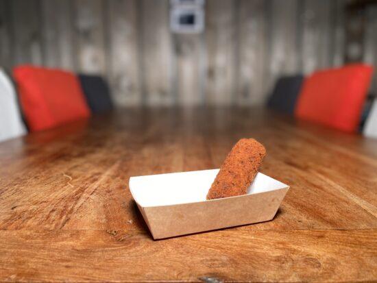 De Schuur van Poortvliet Snackbar Friettent Friet Menu Eten Terras Zeeland Groente Groentekroket kroket vegetarisch