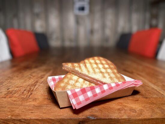 Snackbar Friettent Friet Menu Eten Terras Zeeland Snack Broodje Tosti Ham Kaas