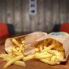 Snackbar Friettent Friet Menu Eten Terras Zeeland Snack Grote Familiezak Groot Gezinszak